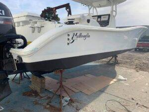36' Yellowfin new paint after