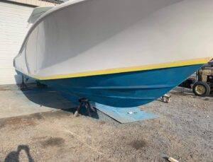 36' Yellowfin new paint before