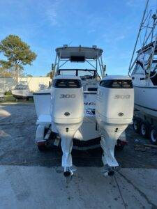 Convert your old 25' Classic to Twin Outboard Power