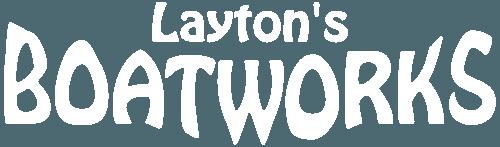 laytons boatworks logo boat repair custom boats