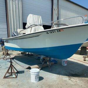 May-Craft boat with new bottom paint