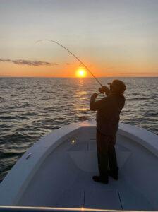 fishinginthesunset